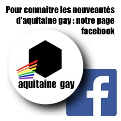 Page facebook d'aquitaine gay